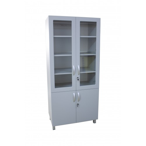 Medical cabinet with display window