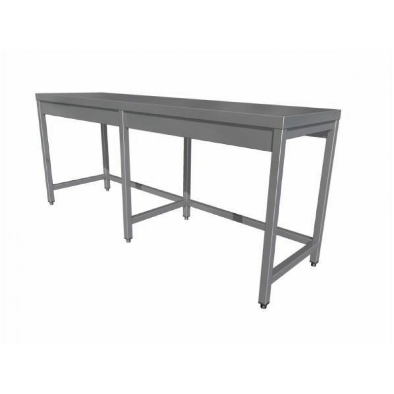 Work table without shelf (6 legs)