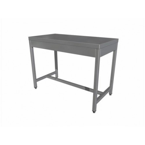 Central work table without shelf (4 legs)