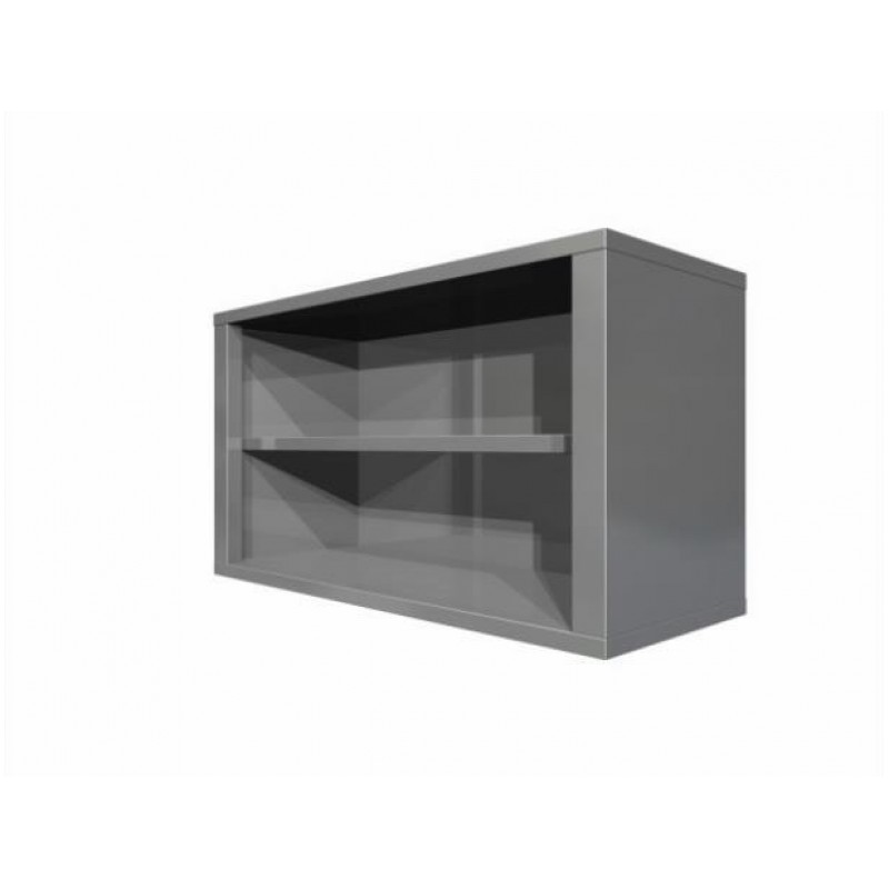 Wall cupboard without doors
