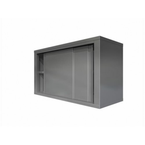 Wall cupboard with sliding doors