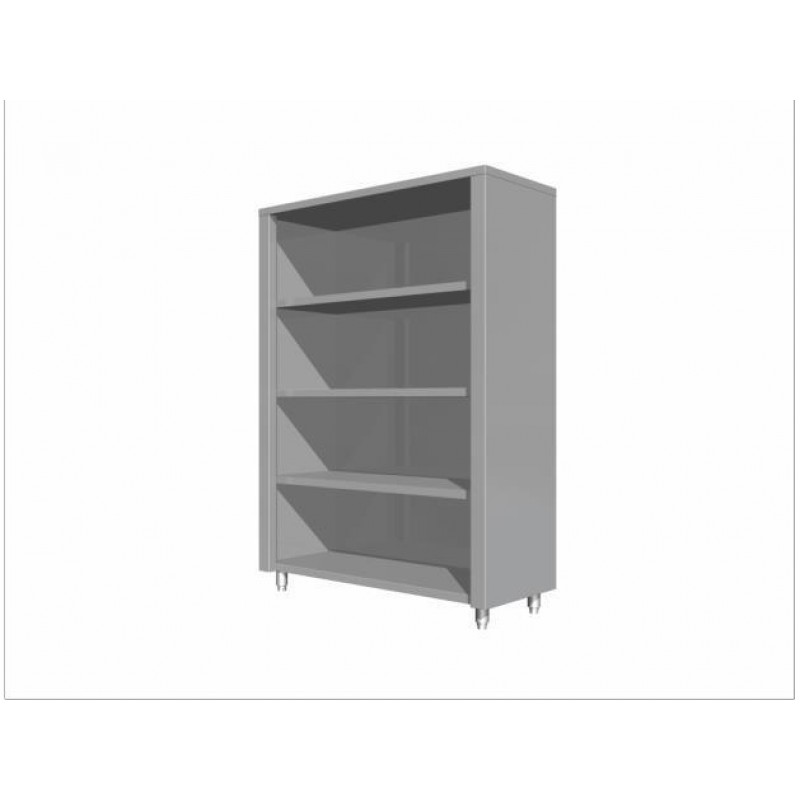 High storage cupboard without doors