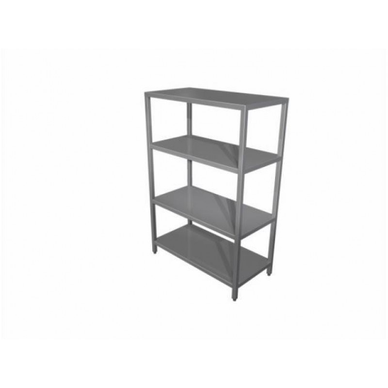 Shelving unit with adjustable shelves