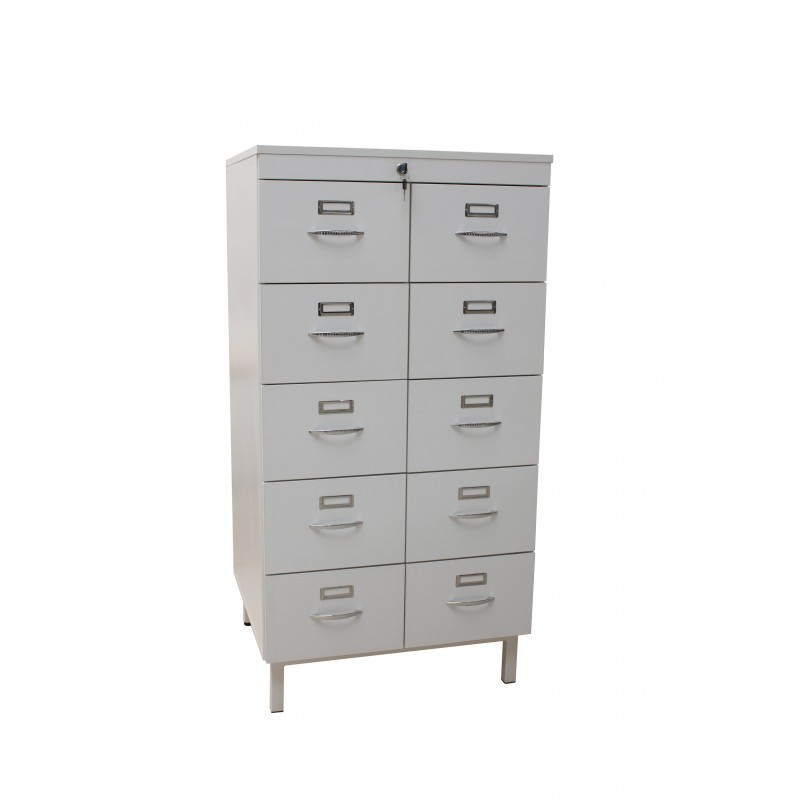 Storage cabinet for patient files